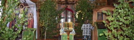 Праздник Троицы в Шатурском благочинии