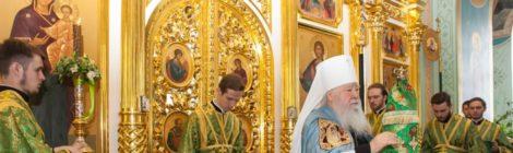 Юбилейные торжества в Троицком храме с. Шарапово