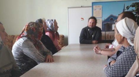 Беседа с прихожанами Скорбященского храма г. Рошаль