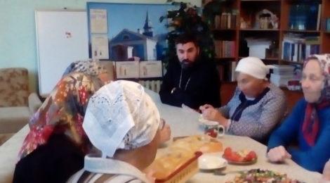 Беседа с прихожанами храма г. Рошаль о равноап. княгине Ольге