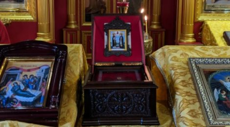 Принесение мощей свв. Петра и Февронии в храм г. Шатура
