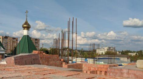 Строительство Никольского храма в г. Шатура