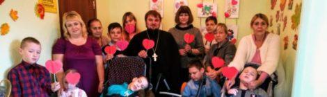 """Акция """"Согреем детские сердца"""" в центре соц. обслуживания г. Шатура"""