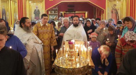 Димитриевская родительская суббота в храмах благочиния