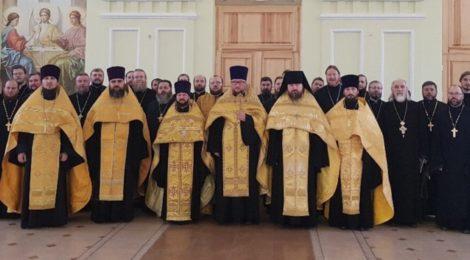 Курсы повышения квалификации священнослужителей в г. Орехово-Зуево