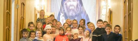 Интервью с настоятелем Крестовоздвиженского храма пос. Мишеронский о Воскресном институте
