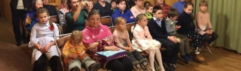 Концерт в воскресной школе с. Шарапово