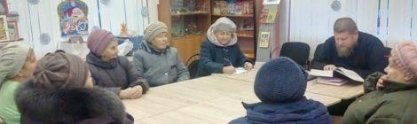Встреча с жителями в ДК п. Черусти