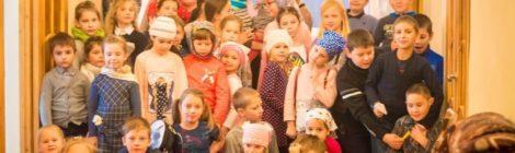 Занятия в Воскресном институте  Крестовоздвиженского храма пос.Мишеронский