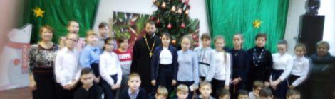 Встреча со священником в школе №2 г. Рошаль
