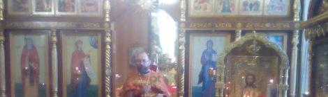 Память мученика Вонифатия в Покровском храме с. Пустоша