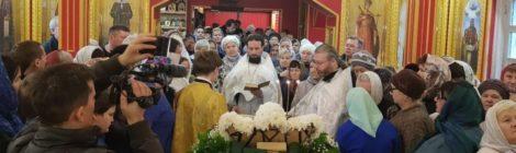 Крещенский сочельник в храмах Шатурского благочиния