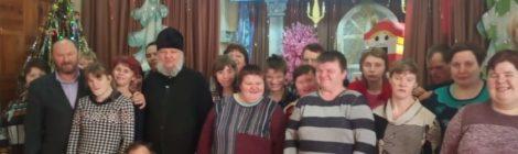 Встреча со священником в Коробовском психоневрологическом интернате