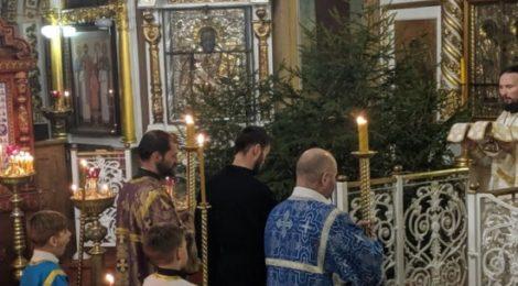 Рождество Христово в храмах Шатурского благочиния