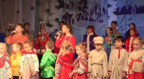 Рождественский праздник в ДК с. Дмитровский Погост
