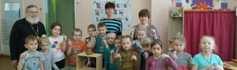 Занятия ОПК в детском саду с. Пышлицы