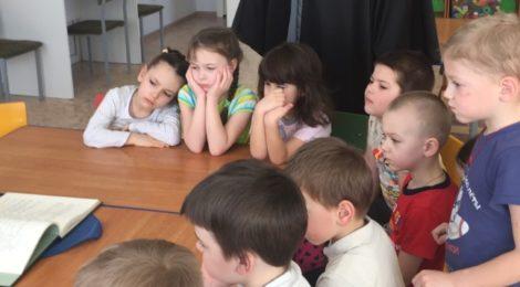 День православной книги в детском саду с. Середниково