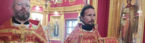 День памяти Георгия Победоносца в храме новомучеников и исповедников Шатурских г. Шатура