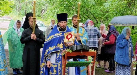 Престольный праздник Тихвинского храма с. Евлево