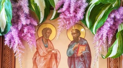 День апостолов Петра и Павла в храмах Шатурского благочиния