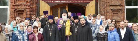 120-летие Крестовоздвиженского храма в п. Мишеронский