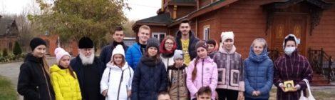 Субботник на территориихрама Архангела Михаила с. Пышлицы