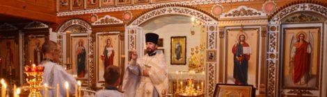 Престольный праздник Михаило-Архангельского храма с. Пышлицы