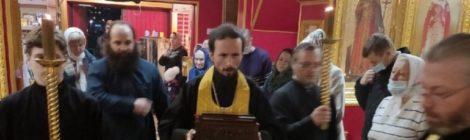 Прибытие святыни в храм новомучеников и исповедников Шатурских г. Шатура