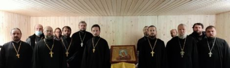 Первый этап Епархиального собрания Шатурского благочиния
