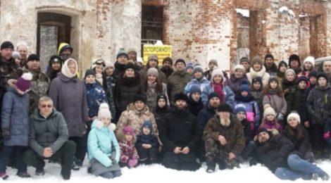 Паломнический поход в с. Курилово