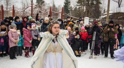 """""""Рождественская история"""" прихода Скорбященского храма г. Рошаль"""