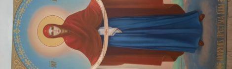 Новая икона Покрова Пресвятой Богородицы в с.Середниково