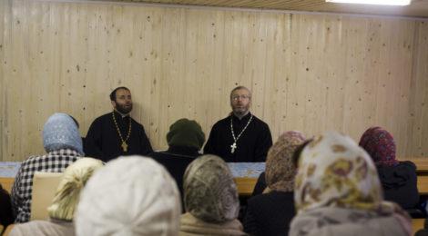 Общеприходское собрание в Никольском храме г.Шатуры