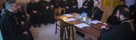 Братское совещание в Крестовоздвиженском храме пос.Мишеронский