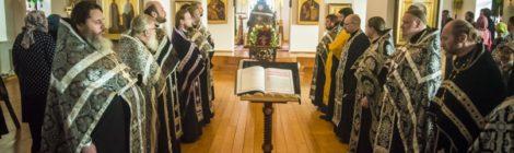 Соборная Пассия в Крестовоздвиженском храме пос.Мишеронский