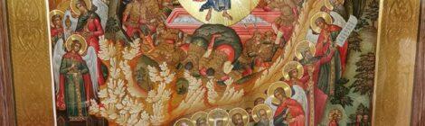 Икона Воскресения Христова в Казанском храме