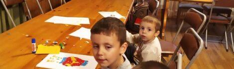 В Троицком храме с.Шарапово занятия со старшей группой прямо особенно удались