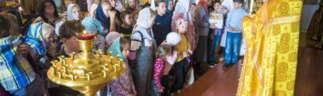 Воскресная школа в Рошальском храме