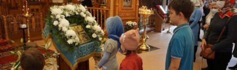 Праздник Покрова Пресвятой Богородицы в Казанском храме